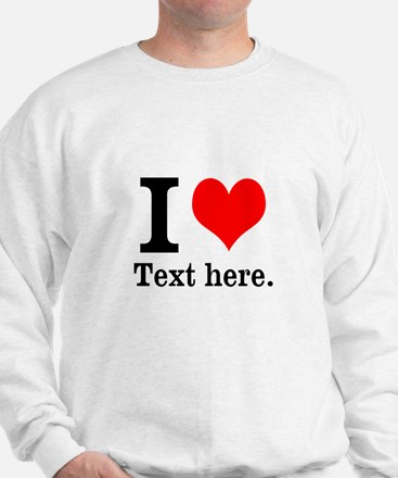 What do you love? Sweater
