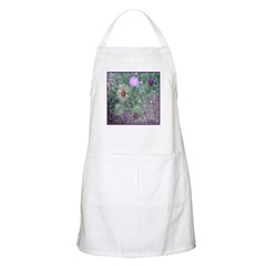 Thistles in various stages BBQ Apron