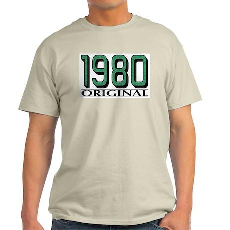 1980 Original Ash Grey T-Shirt