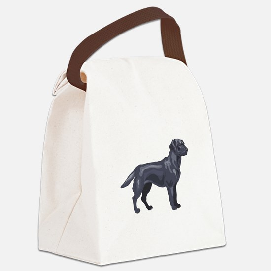 labrador retriver copy.jpg Canvas Lunch Bag