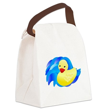 ducky.jpg Canvas Lunch Bag