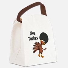 jive turkey.png Canvas Lunch Bag