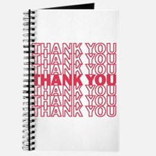 Cute Thank you Journal