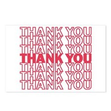 Funny Thank you Postcards (Package of 8)