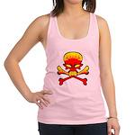 flamingl skull and crossbones copy.png Racerback T