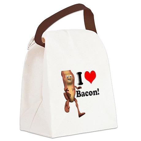 bacon copy.jpg Canvas Lunch Bag