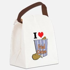 fried chicken copy.jpg Canvas Lunch Bag