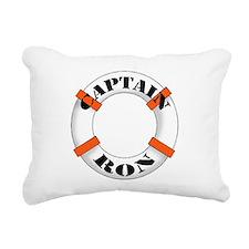 cap ron.png Rectangular Canvas Pillow