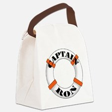 cap ron.png Canvas Lunch Bag
