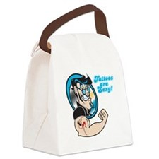 tattoos are sexy.png Canvas Lunch Bag