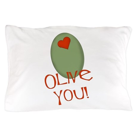 olive you.png Pillow Case