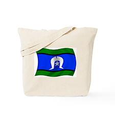 Waving TSI Flag Tote Bag