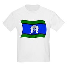 Waving TSI Flag Kids T-Shirt