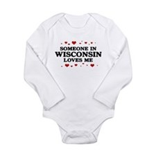 Loves Me in Wisconsin Body Suit