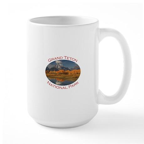 Grand Teton National Park Large Mug