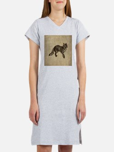 Vintage Fox Women's Nightshirt