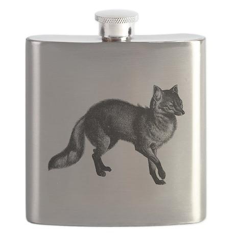 Vintage Fox Flask