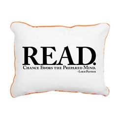 READ-PreparedMind Rectangular Canvas Pillow