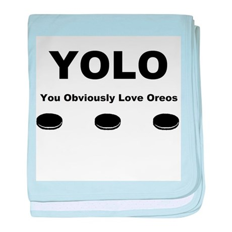 You Obviously Love Oreos baby blanket by listing-store ... You Obviously Love Oreos