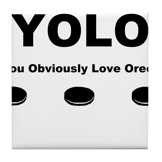 You Obviously Love Oreos Tile Coaster by listing-store-71023588