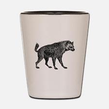 Vintage Hyena Shot Glass
