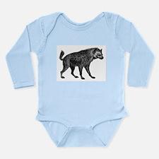 Vintage Hyena Long Sleeve Infant Bodysuit