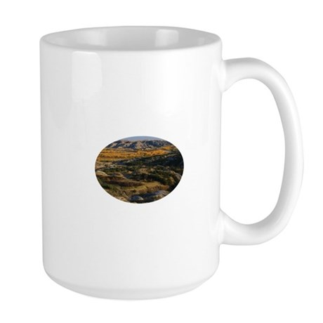 North Dakota Landscape Large Mug