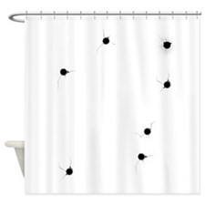 Bullet Holes Shower Curtain