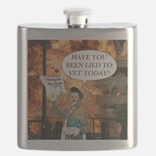 Have you been lied to yet today Flask