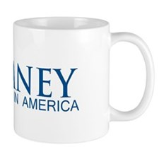 Romney: Born in America Mug