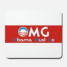 Obama Must Go Mousepad