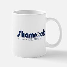 SHAMROCK LOGO 1 BLUE Mug