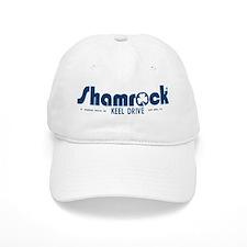 SHAMROCK LOGO 1 BLUE Baseball Cap