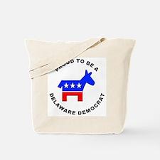 Delaware Democrat Pride Tote Bag