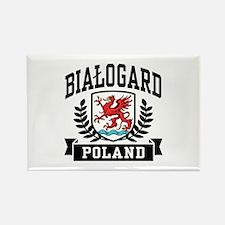 Bialogard Poland Rectangle Magnet