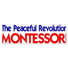 Peaceful Revolution Bumper Bumper Sticker