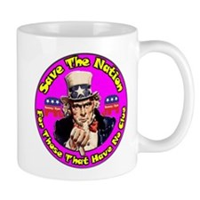 Save The Nation ~ Small Mug