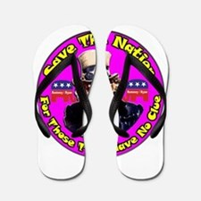 Save The Nation ~ Flip Flops