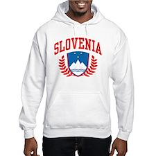 Slovenia Coat of Arms Hoodie