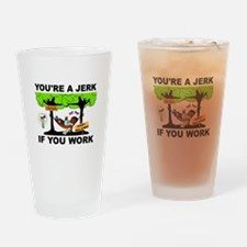 OBAMA VOTERS Drinking Glass