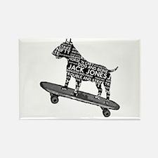 Vintage Bull Terrier Skateboarding London Slang Re