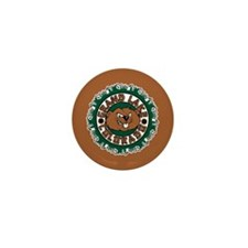 Grand Lake Beaver Circle Mini Button