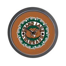 Grand Lake Beaver Circle Wall Clock