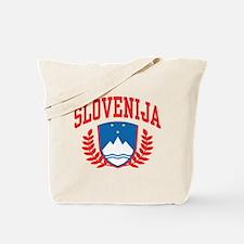 Slovenija Coat of Arms Tote Bag