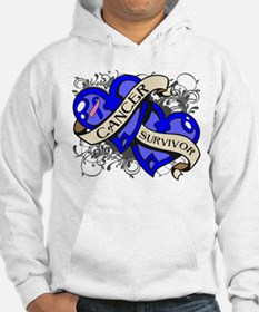 Male Breast Cancer Survivor Hoodie