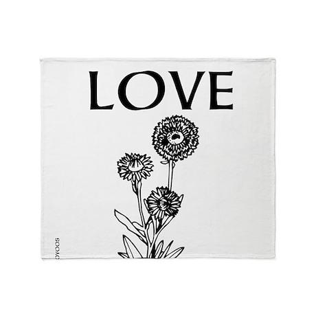 OYOOS Love design Throw Blanket