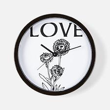 OYOOS Love design Wall Clock