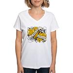 Neuroblastoma Survivor Women's V-Neck T-Shirt