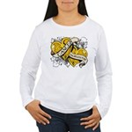 Neuroblastoma Survivor Women's Long Sleeve T-Shirt