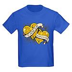 Neuroblastoma Survivor Kids Dark T-Shirt